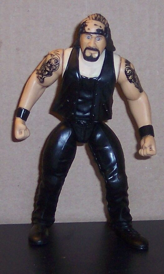 "Primary image for ""Chainz"" 1998 Jakk's Pacific 2 Tuff   6"" Action Figure WWE WWF WCW [1699]"