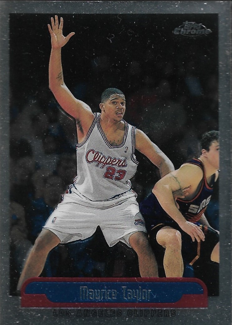 Primary image for Maurice Taylor Topps Chrome 99-00 #41 Los Angeles Clippers Houston Rockets
