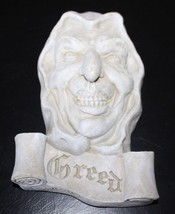 Seven Deadly Sins of Greed Wall Sculpture Halloween Haunted House Horror... - $31.49