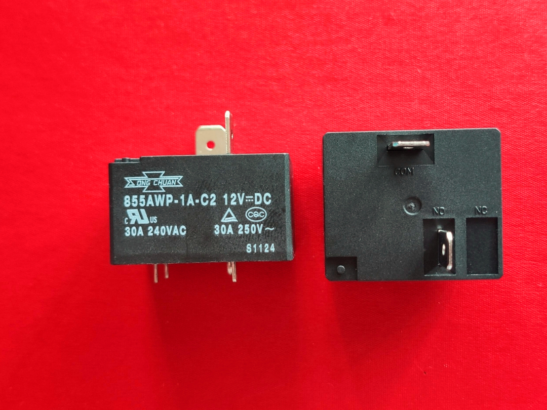 Primary image for 855AWP-1A-C2, 12VDC Relay, SONG CHUAN Brand New!!!