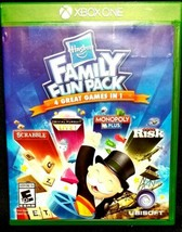 Hasbro Family Fun Pack Standard Edition For Xbox One Board Games Very Good  - $18.60