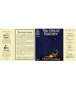Fitzgerald THE GREAT GATSBY facsimile jacket for 1st ed/early (NO BOOK) - $33.79