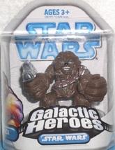 Star Wars Chewbacca Galactic Heroes A New Hope 2.5 Inch Figure - $9.95