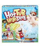 Hasbro Gaming Hot Tub High Dive Game With Bubbles For Kids Board Game Fo... - $15.90