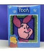 Winnie Pooh Piglet latch hook kit crochet needlecraft yarn craft walt di... - $29.65