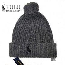 Polo Ralph Lauren Men  39 s Big Pony Pom Pom Skull Cap Beanie Hat 10e764f3019a