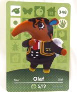 348 - Olaf - Series 4 Animal Crossing Villager Amiibo Card - $10.99