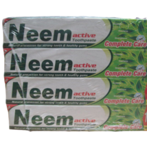 12 Lots 200gram Neem Active Herbal Toothpaste 100% Vegetarian  - $37.50