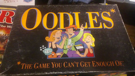 OODLES Electronic Card Board Game Milton Bradley Hasbro 1992 - $24.00
