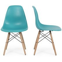 Eight24hours Set of 2 Mid Century Earmes Style Modern Dining Side Chair ... - £145.21 GBP