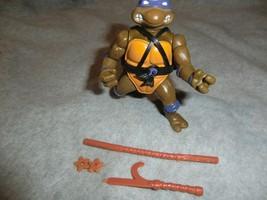 Vintage 1988 Playmates TMNT Donatello (Hard Head) Action Figure  - $14.99