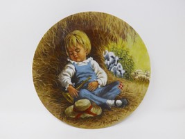 "Reco ""Little Boy Blue"" Collectible Plate - Mother Goose Series - $16.14"