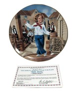 Shirley Temple Captain January First Ed Danbury Mint 1991 Collector Plat... - $24.75