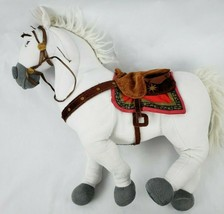 "Disney Store Tangled Maximus 16"" Plush White Horse Rapunzel Stuffed Animal  - $13.79"