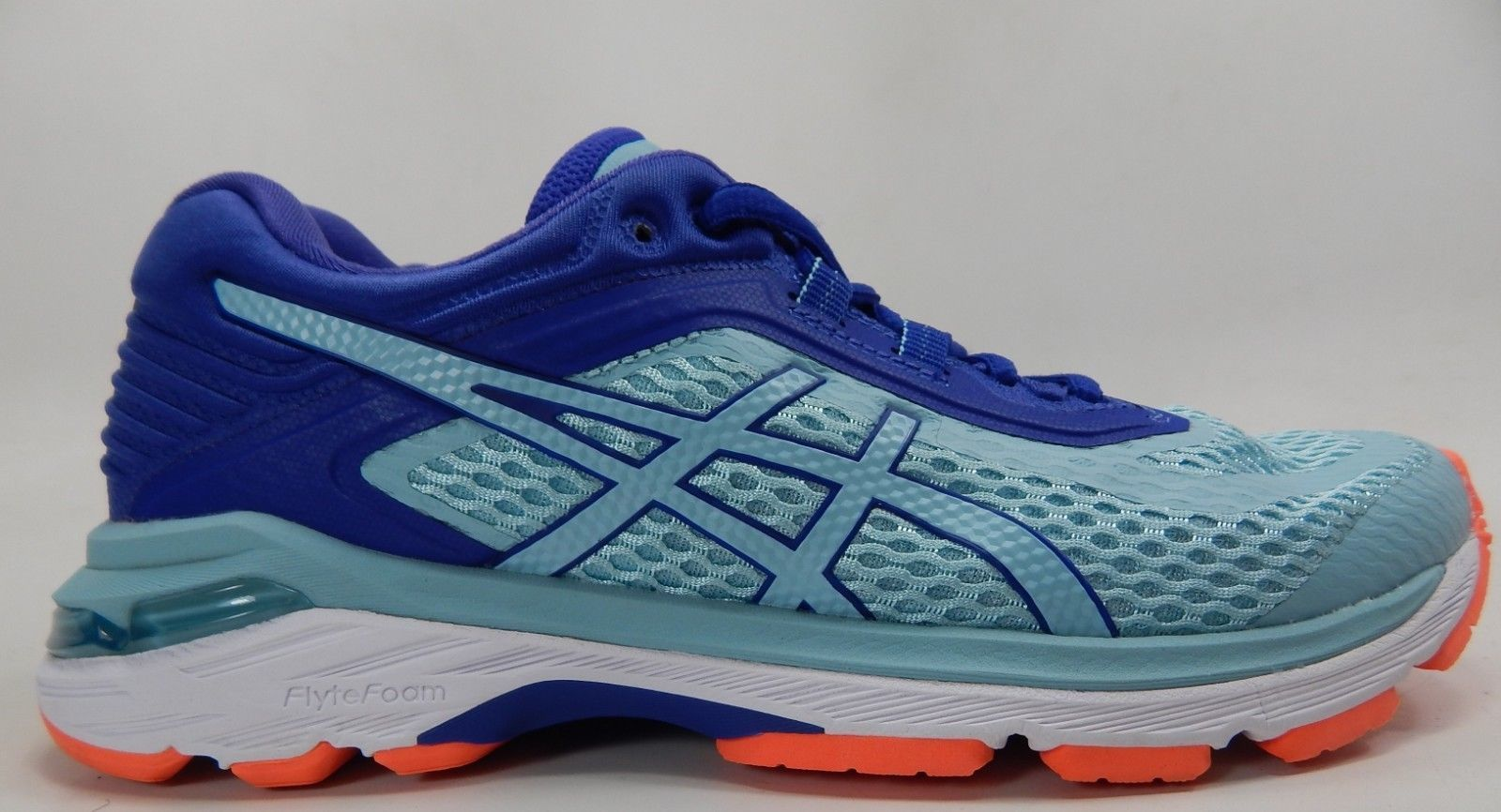 Asics GT 2000 v 6 Size US  6.5 M (B) EU 37.5 Women's Running Shoes Blue T855N