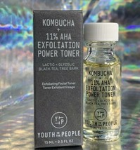 Youth To The People 11% AHA KOMBUCHA POWER TONER TRY BEFORE U BUY SIZE  15mL