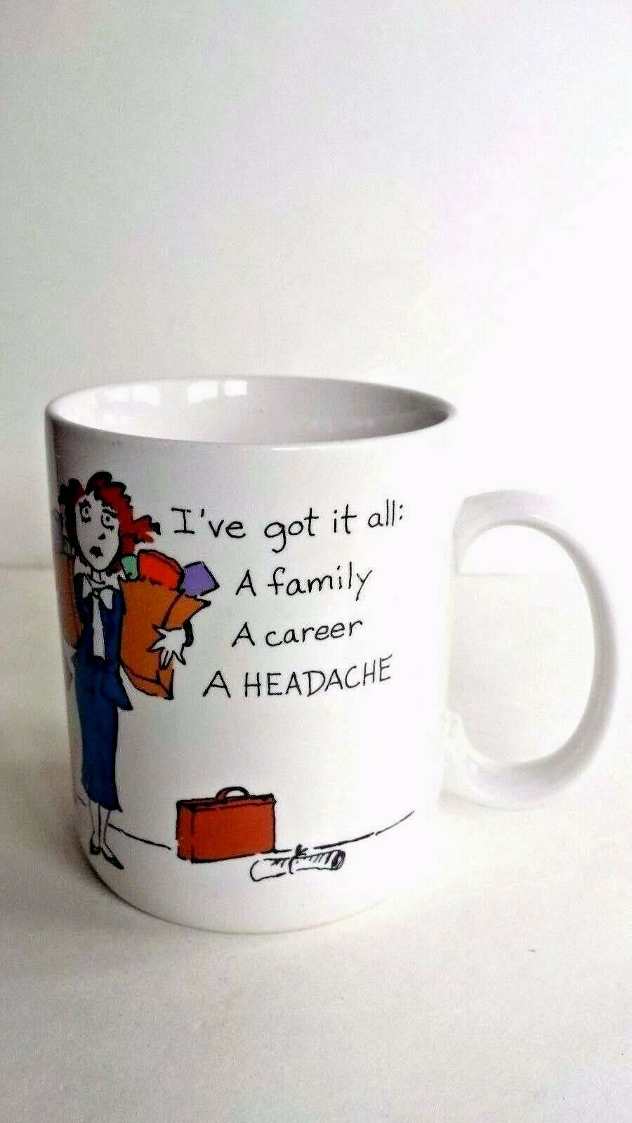 Primary image for Hallmark Shoebox Greetings I've Got It All Career Woman Coffee Mug Cup 1987