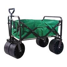 Garden Beautification Tool in Three Cubic foot Steel Folding Wagon Coate... - $125.99