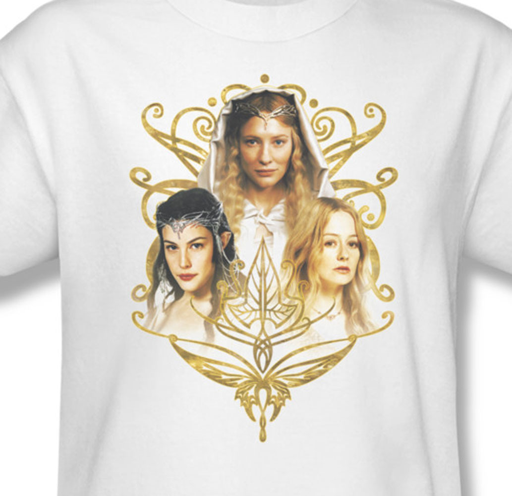 Lord of the rings eowyn galadriel arwen elves for sale online graphic white teelor1029 at