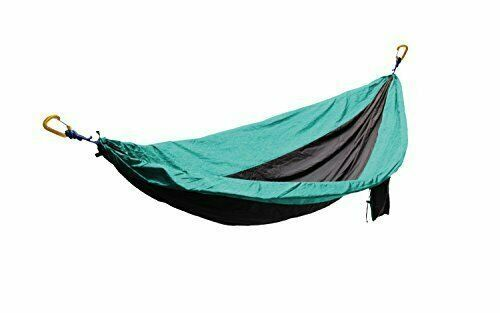 Primary image for Summit Hammock Lightweight Double Travel Nylon Hammock (Teal)