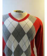 Traditional Red Argyle Sweater - $15.00