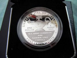 2013 P 5-Star Generals Commemorative Coin Program Proof Silver Dollar LIMITED image 3