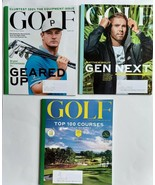 3 Golf Magazine NEWEST 2021 Lot Sports Fitness Golf-Course Clubs Players... - $17.95