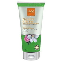 VLCC Alpine Mint & Tea Tree Gentle Refreshing Face Wash 175ml Free Shipping - $12.92