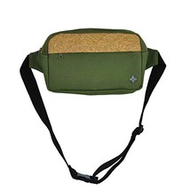 virblatt fanny pack belt bag with cork for men and women travel belt bag - Gekor