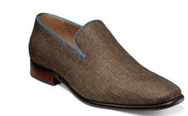 Men's Shoes Florsheim Postino Plain Toe Linen Slip On Cocoa Nubuck 15179... - €92,29 EUR