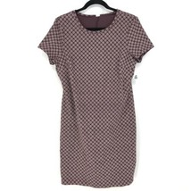 Old Navy Women's Size Large Short Sleeve Knit Tee Dress Getting Figgy Pu... - $21.49