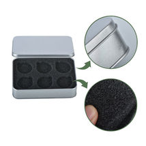 WR Coin Tin Silver Case Display Box Storage Holder for 6 40mm Coins Collect Item image 5