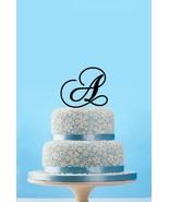 Buythrow® Personalized Monogram Initial Wedding Cake Topper Unique Custo... - $24.01