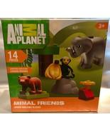 Animal Planet ANIMAL FRIENDS Junior Building Block Set 14 Pieces - Easte... - $7.94