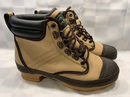 REDHEAD Steel Shank Outdoor Fishing Boots Men's Size 8 (20F Tan) - $23.75