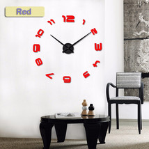 Large Silent Wall Clock Saat Classic Style Home Decor Decoration Living ... - $22.01