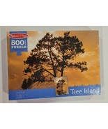 """Melissa & Doug 500 PC Tree Island Sunset Large Piece 19.25"""" x 26.50"""" Puzzle - $24.74"""