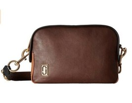 Marc Jacobs Women's The Squeeze Crossbody Bag - Chocolate - $298.00