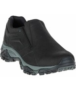 Merrell Moab Adventure Moc Mens Black Nubuck Waterproof Casual Shoes Siz... - £90.57 GBP
