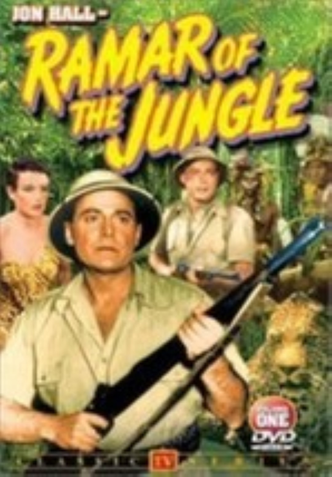 Primary image for Ramar of the Jungle, Volume 1 Dvd