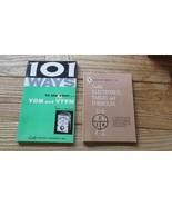 101 Ways to Use Your VOM & VTVM, Robert Middleton,1964& Tables/Formular ... - $19.45