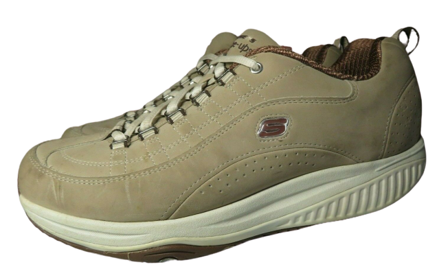 Primary image for Skechers Size 9 XF Shape Ups Energy Blast Fitness Shoes Sneakers Taupe Womens