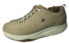 Skechers Size 9 XF Shape Ups Energy Blast Fitness Shoes Sneakers Taupe W... - $24.88