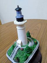 """1994 Harbour Lights Lighthouse Figurine """"Port Isabel Texas"""" #147 image 3"""