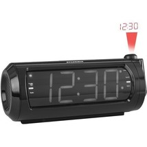 1.8 inch  Jumbo-Digit Projection Dual-Alarm Clock Radio with USB Charging  - $21.99