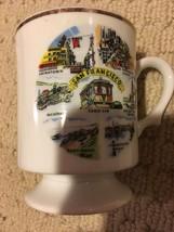 San Fransisco Collectible Ash Tray and Mug - $9.90