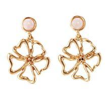 Avon Floral Drop Earrings - $5.99