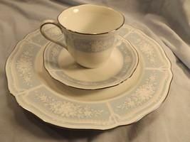 Noritake Lacewood 3-Piece Set - Cup, Saucer, Dinner Plate - Beautiful Co... - $12.00