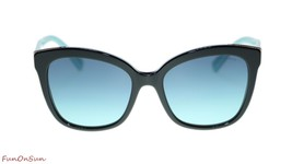 TIFFANY&CO Women's Sunglasses TF4150 80019S Black Azure Gradient Blue Le... - $208.55