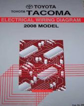 2008 Toyota TACOMA Elettrico Cablaggio Diagramma Servizio Negozio Manual... - $98.85